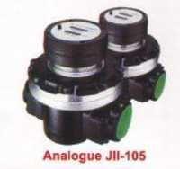 oil flow meter (analogue)