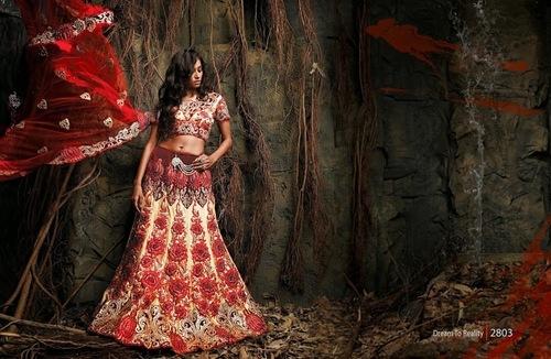 Designer Wedding Lehenga Choli