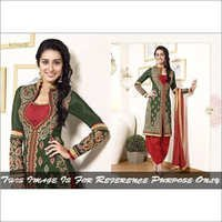Embriodered Patiala Salwar Kameez