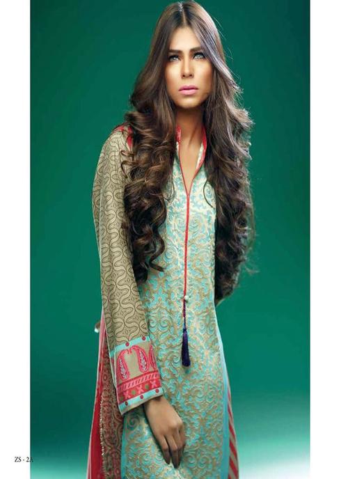 Printed Pakistani Kurti