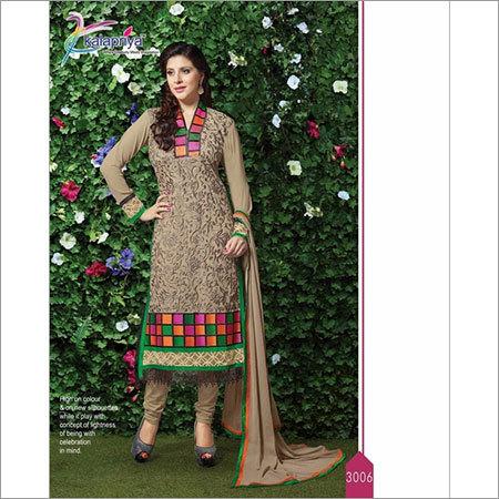 Salwar Kameez Semi Stitched Suit