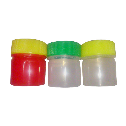 Colored Plastic Balm Containers
