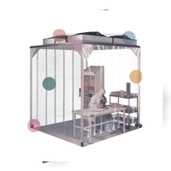 Vertical Down Flow Mobile Tent