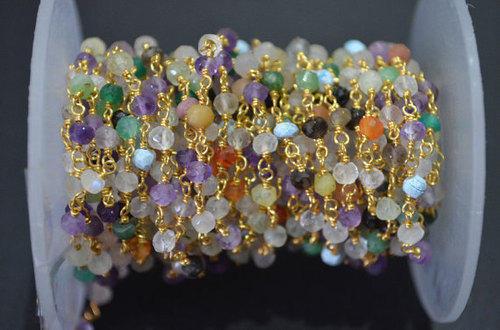 Multi Color Beaded Chain