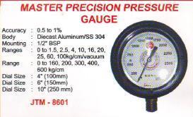 Master precision pressure guage