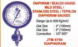 Stainless steel & diaphgram guages