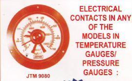 electric tempreture guages & pressure guages