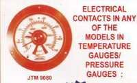 electric tempreture guages & pressure guages