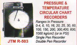 pressure & temperature circular chart