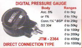 digital pressure guage