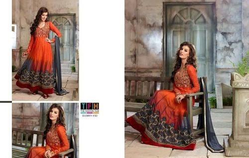 Embriodered Party Wear Anarkali