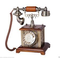 ANTIQUE BRASS TELEPHONE