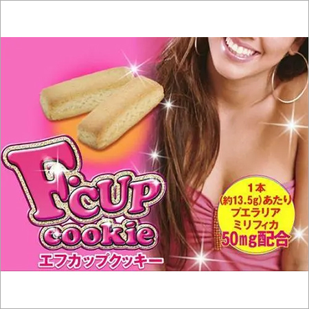 F-cup cookie 14 pcs Plain / Choco Flavor