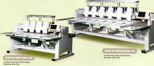 4 & 6 - HEAD AUTOMATIC EMBROIDERY MACHINE