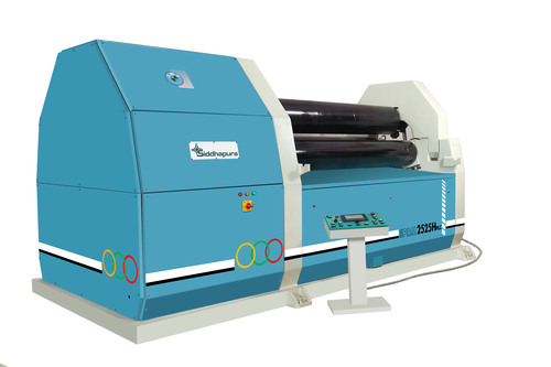 PLC/CNC Hydraulic Plate Rolling & Bending Machine