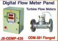 digital flow meter panel