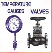 temperature gauges valve