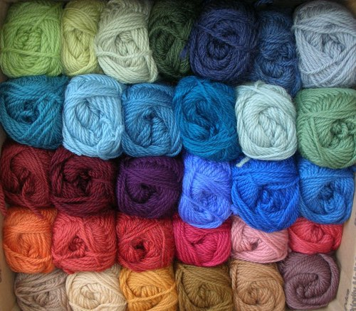 Acrylic Dyed Yarns