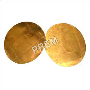Brass Sheet Circle