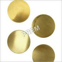 Custom Brass Circles