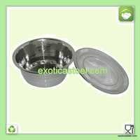 Stainless Steel Finger Bowl With Lid