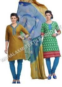 Printed Cotton Suits In Jetpur