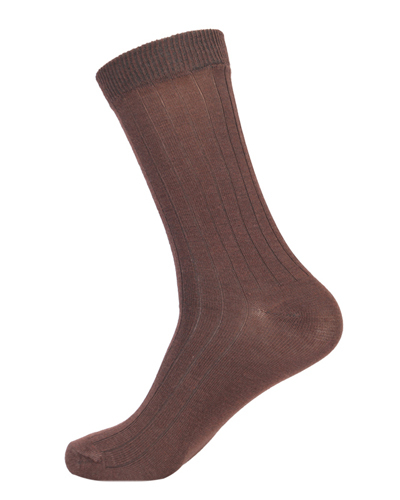 Extra Stretchable Ribbed Executives' Socks