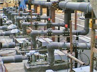 Utility Process Piping Installation