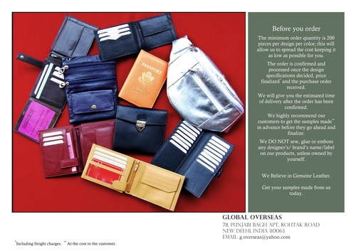 complete wallets accessories