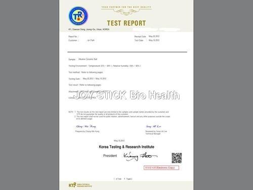 ALKINE CERAMIC REPORTS