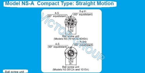 THK NS 2525 A BALL SCREW