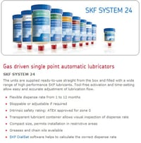 SKF SYSTEM 24 LAGD 125 Single Point Automatic Lubricators