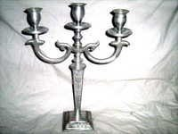 Three Light Candle Stand