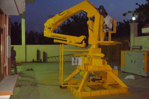 Industrial Foldable Crane