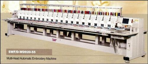 MULTI HEAD AUTOMATIC EMBROIDERY MACHINE (D Series)