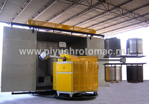 Roto Moulding Bi-Axial Machine