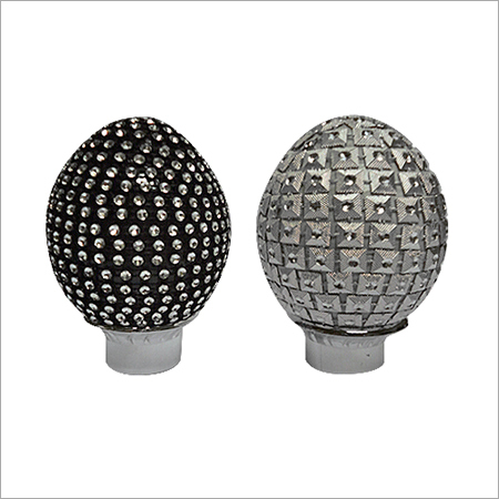 Plastic Designer Oval Finials