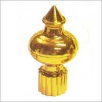 Plastic Golden Tower Finial