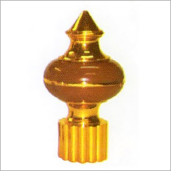Golden Plastic Curtain Finials