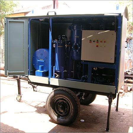 High Vacuum Transformer Oil Dehydration Plant