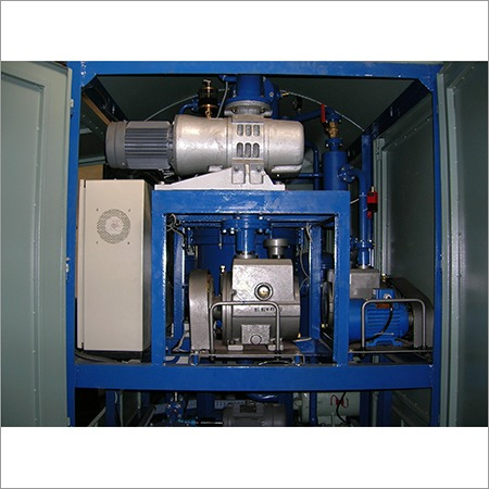 High Vacuum Oil Filtration Plants