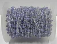 Tanzanite Gemstone Beaded Chain