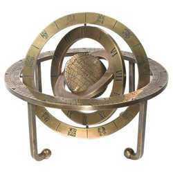 Brass Armillary Sphere