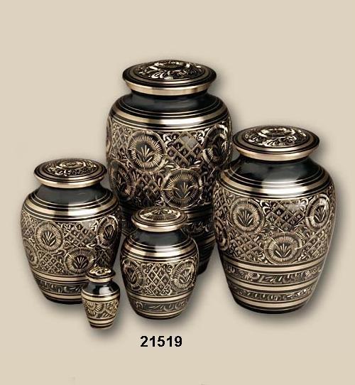 Brass Decorative Urns
