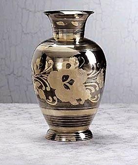 Antique Brass Flower Vase