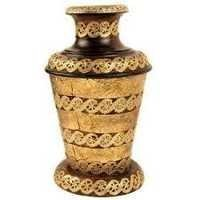 Solid Brass Flower Vase