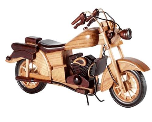 Wooden Royal Enfield Bike