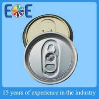 Food grade 57mm easy open end for juice can