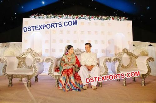 Wedding Stage Wooden Box Backdrop