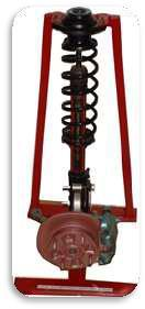 Cut Section Model Of Suspension System